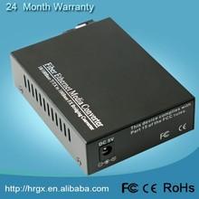 2015 Top selling offer OEM serive10M/100M single mode Single fiber 2-port media network switches /converter