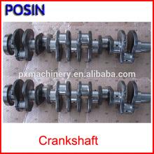 Cigüeñal para excavadora y partes motor excavadora/ Cigüeñal motor