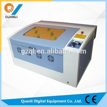 Stamp machine QL-3040 small laser CNC engraving machine for sale