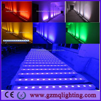 white wirless uplighters 12*15w RGBWA 5in1 led wireless dmx512 sute stage led light