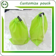 Hongway Customize logo pouch, private label novelty gift all purpose design microfiber polyester pouch