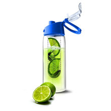 fruit infuser water bottle/fruit infuser water pitcher with different colour