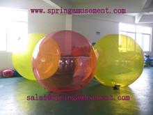 PVC/TPU inflatable water walking ball jumbo water ball roller price SP-WB017