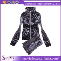 Wholesale Sweat Suits, OEM Womens Polyester Tracksuit, OEM Outdoor Sportswear