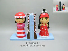 New design singing girls bookends