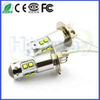 12V 24V 50W H3 AUTO LED Bulb Car LED h3 FOG Lamp LED H3 DRL Light Car LED Lighting 4300k 6000K White Yellow Red