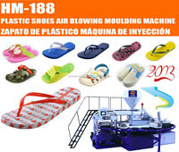 Three Color PVC Air Blowing Slippers Making Machine