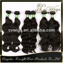 Latest fashionable virgin brazilian wavy hair wholesale