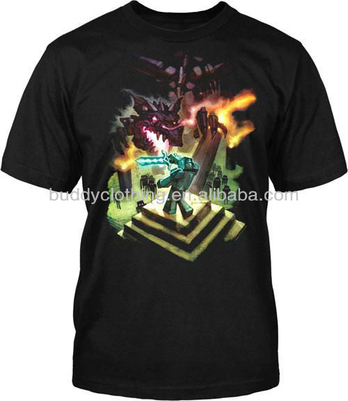 Bulk screen printing t shirts with customer 39 s design print for T shirts in bulk for screen printing