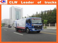 China exported vacuum road sweeper truck price off road sweeper truck 4*2 road cleaning vehicle