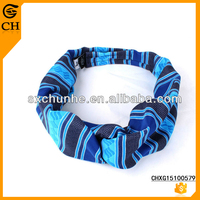 100% Polyester Wholesale Stretch Fabric Covered Headbands