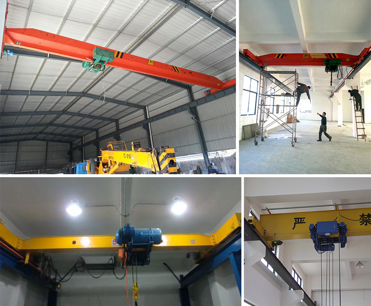 Overhead Crane Load Limiter : Electric overhead crane with hoist