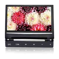 """9"""" HD Car Headrest monitor with USB SD DVD Player IR FM Game Touchscreen"""