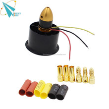 6-blade 55mm rc ducated fan kit 2 with 2611-3500kv brushless motor