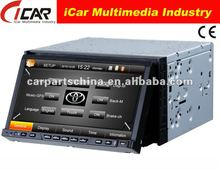 NEW/HOT Double Din 7'' touch screen,GPS, Bluetooth, TV, PIP, IPod, 3D UI 2 din 7 car dvd