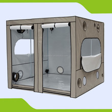 PVC Free 600D Hydroponic Grow Tent for Dark Room Uses 240 x 240 x 200 cm