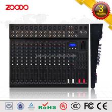 KS-12X Professional 12 Channel Sound Audio Mixer