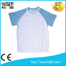 Promotion high quality men polyester sublimated t shirts