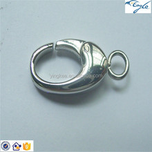 2015 high quality Jewelry Findings 316L Stainless Steel Lobster Clasp
