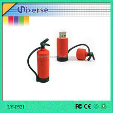 Special shaped fire extinguisher pen drive flash usb