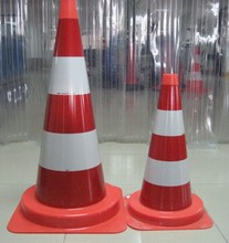2015New Type Soft PVC Traffic Safety Road Warning Cone