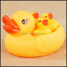 OEM Water Vinyl Bath animal Toy For Kids;floating rubber duck baby water custom vinyl toy;plastic vinyl toys factory