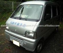 2002 SUZUKI EVERY Van 335127 Japanese Damaged Car