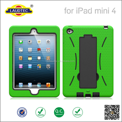 3 In 1 Pattern Shockproof PC Hybrid Case back cover for iPad mini 4