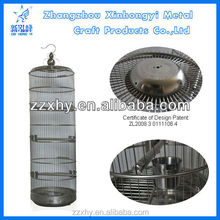 High Ornamental Stainless Steel Bird Cage Myna Cockatoo Parrots Cage Pure Handmade