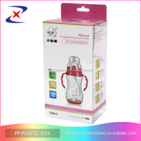 Popular PET plastic box packing for cosmetic