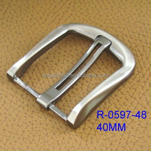 High Quality custom belt buckle , custom metal die casting belt buckle with material zinc alloy R-0586-4 (6184)