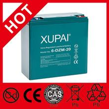 XUPAI Battery lead acid battery load tester dry charged car battery 12v 120ah QS CE ISO