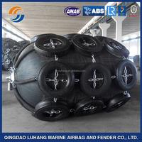 Marine pneumatic inflatable rubber fender/dock fender for boat