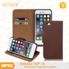 BRG Wholesale Leather Phone Cover For Apple iPhone 6 Plus With Card Holder