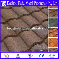 light weight spanish roof tile, stone coated roof tile, roof tile