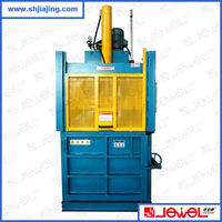High efficient CE certificate more than 20 years factory supply waste paper scrap baling and packaging machine