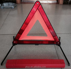 Safety Kit for Auto With Warning Triangle