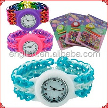 diy loom band watch