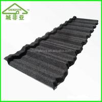 Corrugated stone coated steel roof tile/stone coated metal roof tile