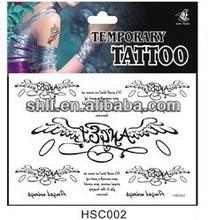 Shanghai lingfeng custom cosmetics manufacturers tattoos stickers
