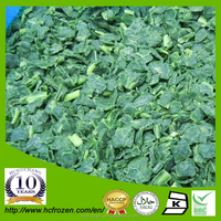 China high quality IQF Frozen spinach chopped
