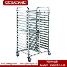 LR2-6H tray clearing trolleys,cleaning trolley,food tray cart