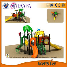 Leaf Roof outdoor Kids' plastic Slide, outdoor playground equipment,amusement park equipment Best sale in Dubai