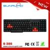 Office Best Choice Membrane Keyboard Computer Keyboard Full Size USB 104 Keys Wired Keyboard