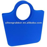 2012 Fashion newest design of silicone hand bag for women