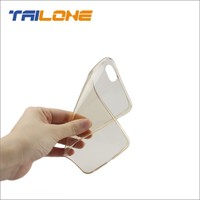 TPU gel ultra thin transparent mobile phone case cover for apple iphone 6 6plus