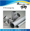 Professional factory for PP PVC UPVC rubber ring pipe Silent pipe SWR pipe fitting