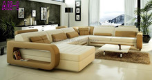 Most popular luxury leather sofa, antique leather sofa, italian antique leather sofa A05
