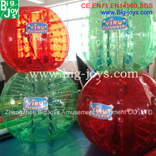 1.2m/1.5mD inflatable knock ball for sale, inflatable human knock ball for kids and adult