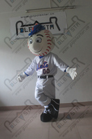 character Mr Met mascot costumes baseball boy costumes